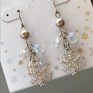 Snowflake winter Earrings
